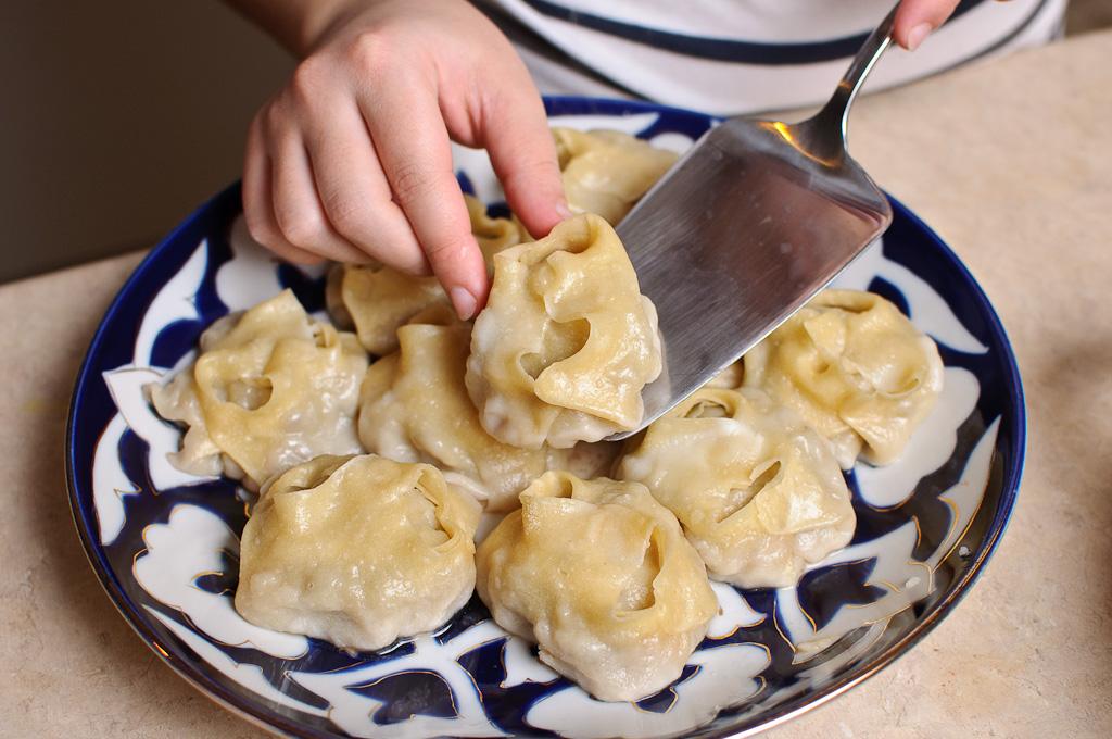 Манты узбекские пошаговый рецепт с фото