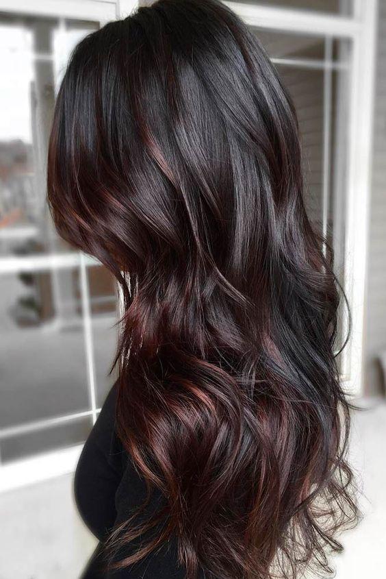 Оттенки черного цвета волос: палитра, особенности выбора, техника окрашивания