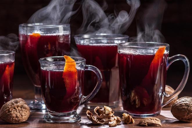 Лечение теплым вином простуды