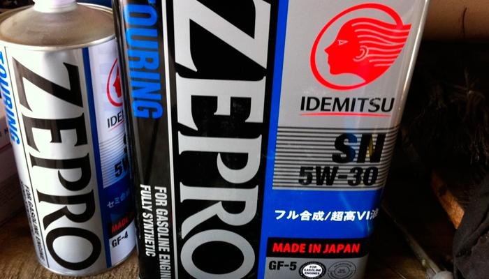 Idemitsu Zepro Touring 5W30 отзывы
