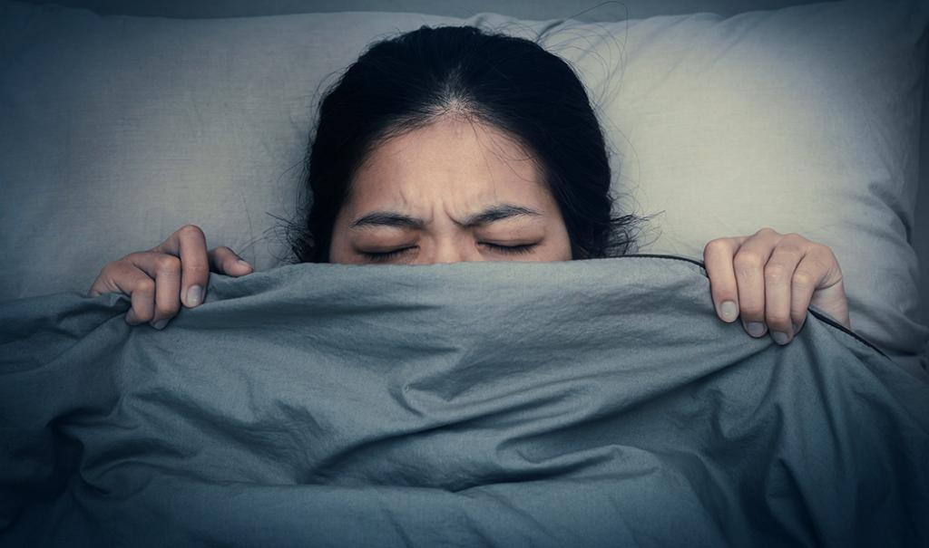Insomnia after exercise