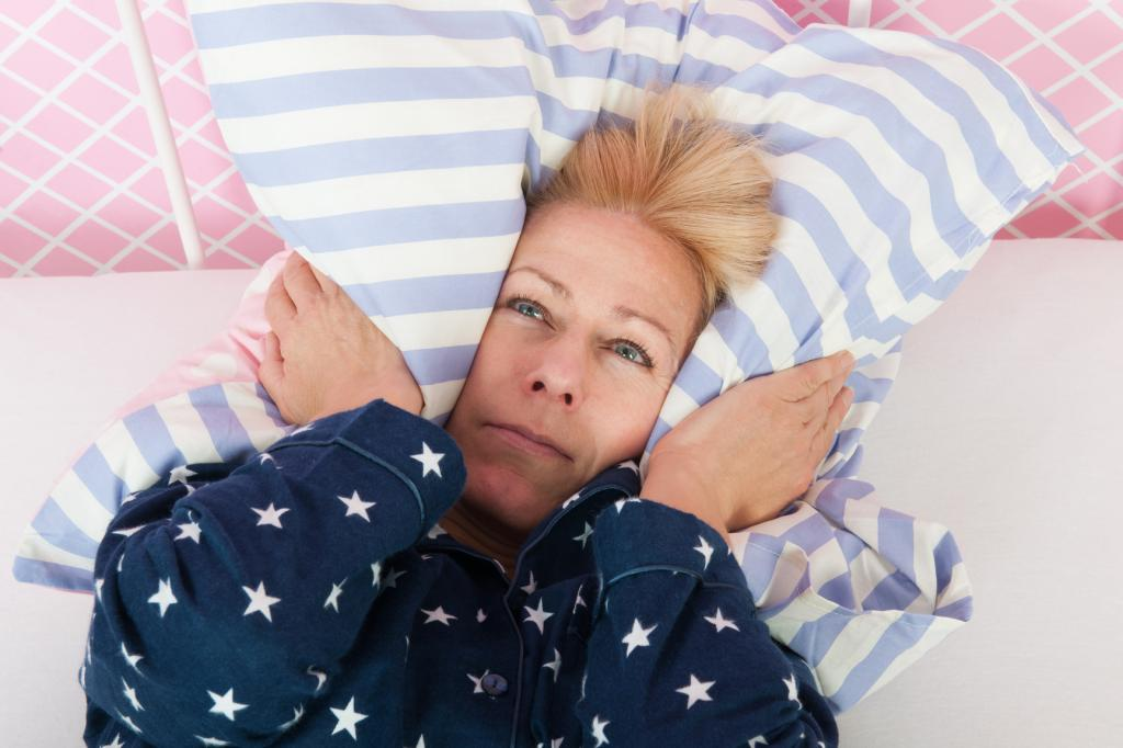 Insomnia after 50 in women