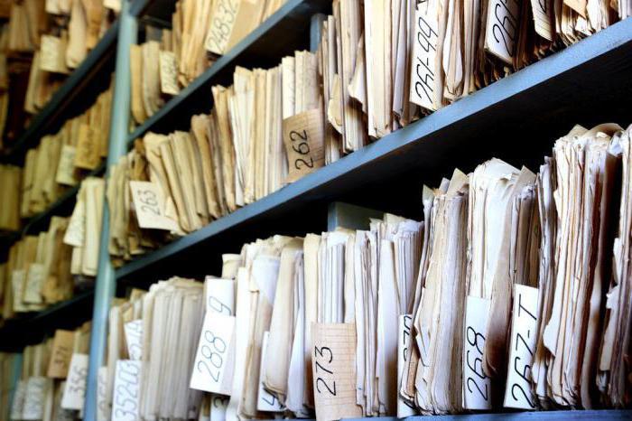 Типовые должностные инструкции архивариуса
