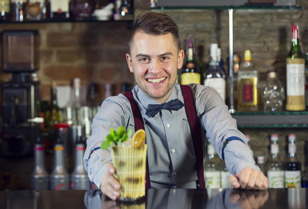 Работа бармена картинки