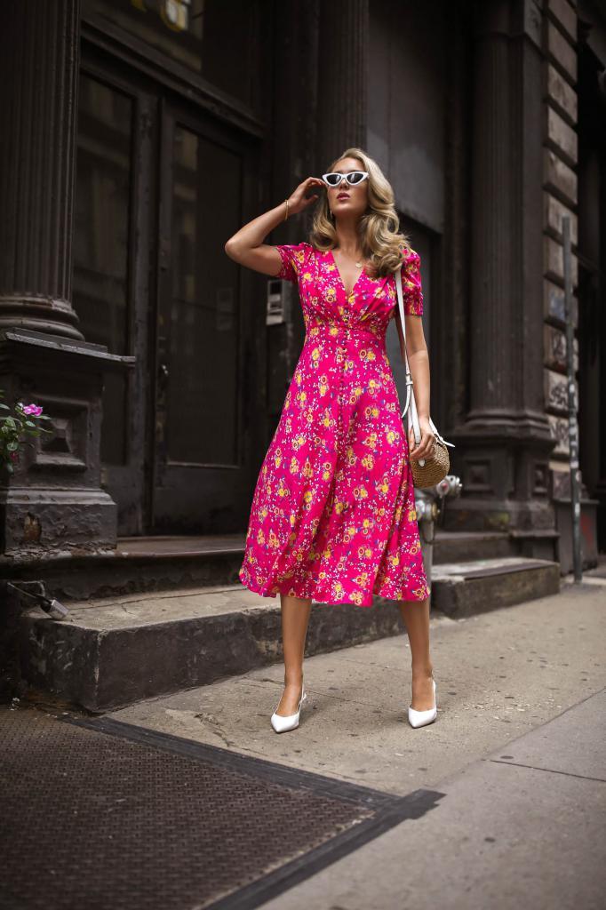 сонник розовое платье длинное