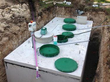 Септик с высоким уровнем грунтовых вод