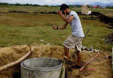 Высокий уровень грунтовых вод септик