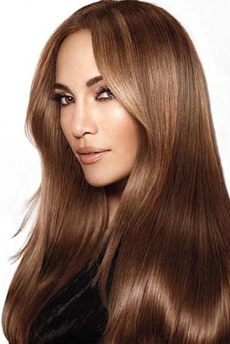 Шоколадный цвет волос цвет бровей