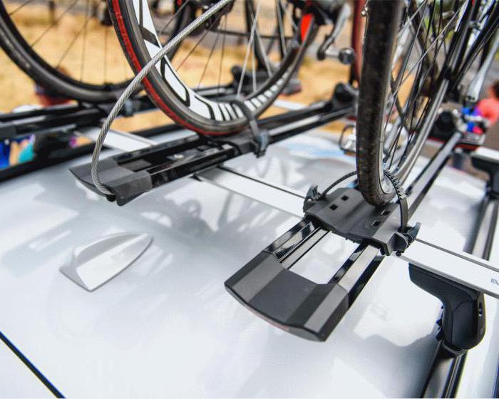 крепления для велосипеда на крышу автомобиля