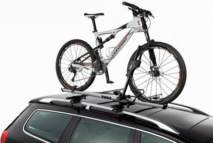 крепление для велосипеда на крышу автомобиля Thule