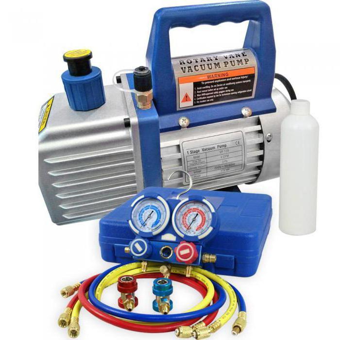 вакуумный насос для установки кондиционера