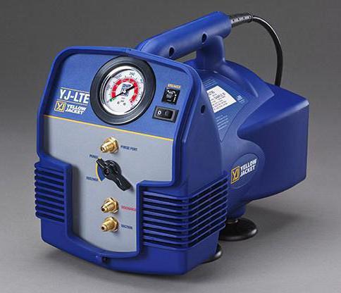 вакуумный насос для откачки воздуха из кондиционера