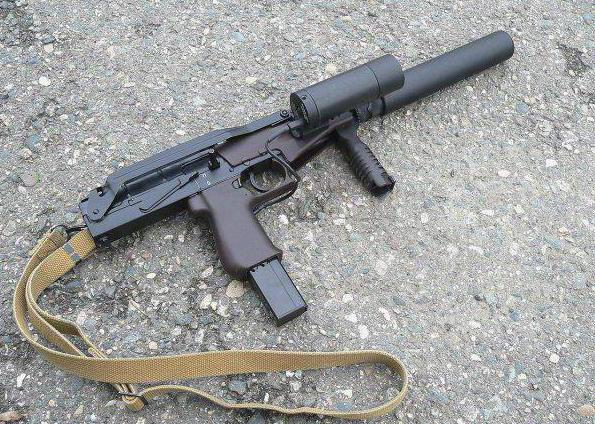 пистолет пулемет вереск конструкция