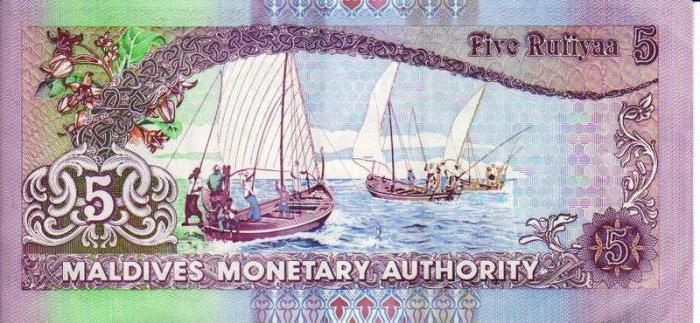 Валюта Мальдив. Курс и номинал