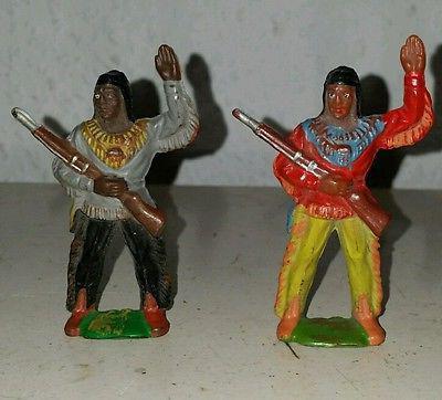 Игрушечные индейцы (ГДР) - легендарные фигурки из советского прошлого
