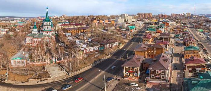 крупные города иркутской области список
