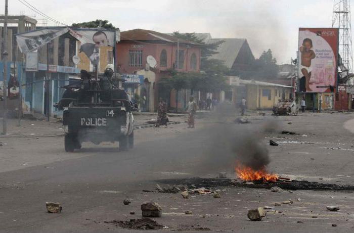 африка демократическая республика конго