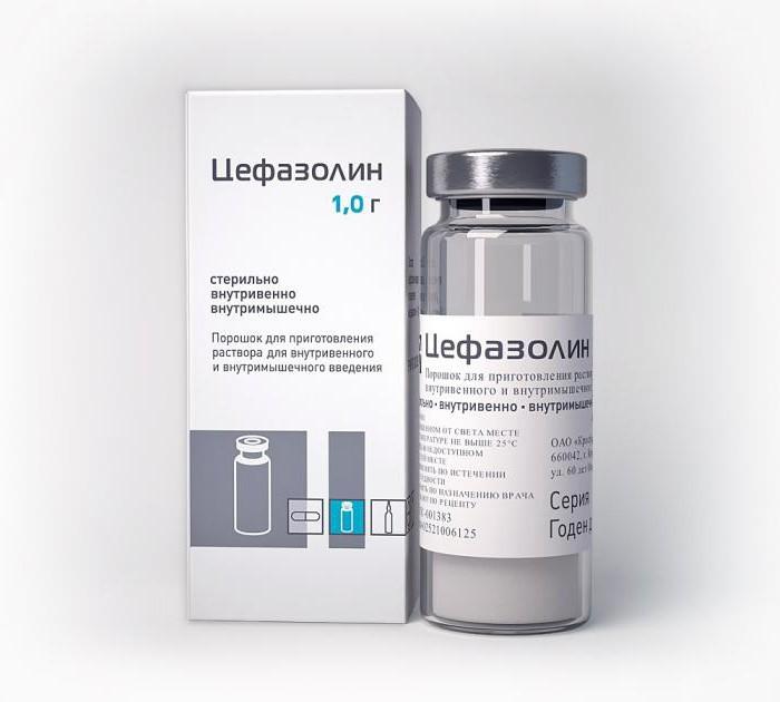 цефазолин или меронем