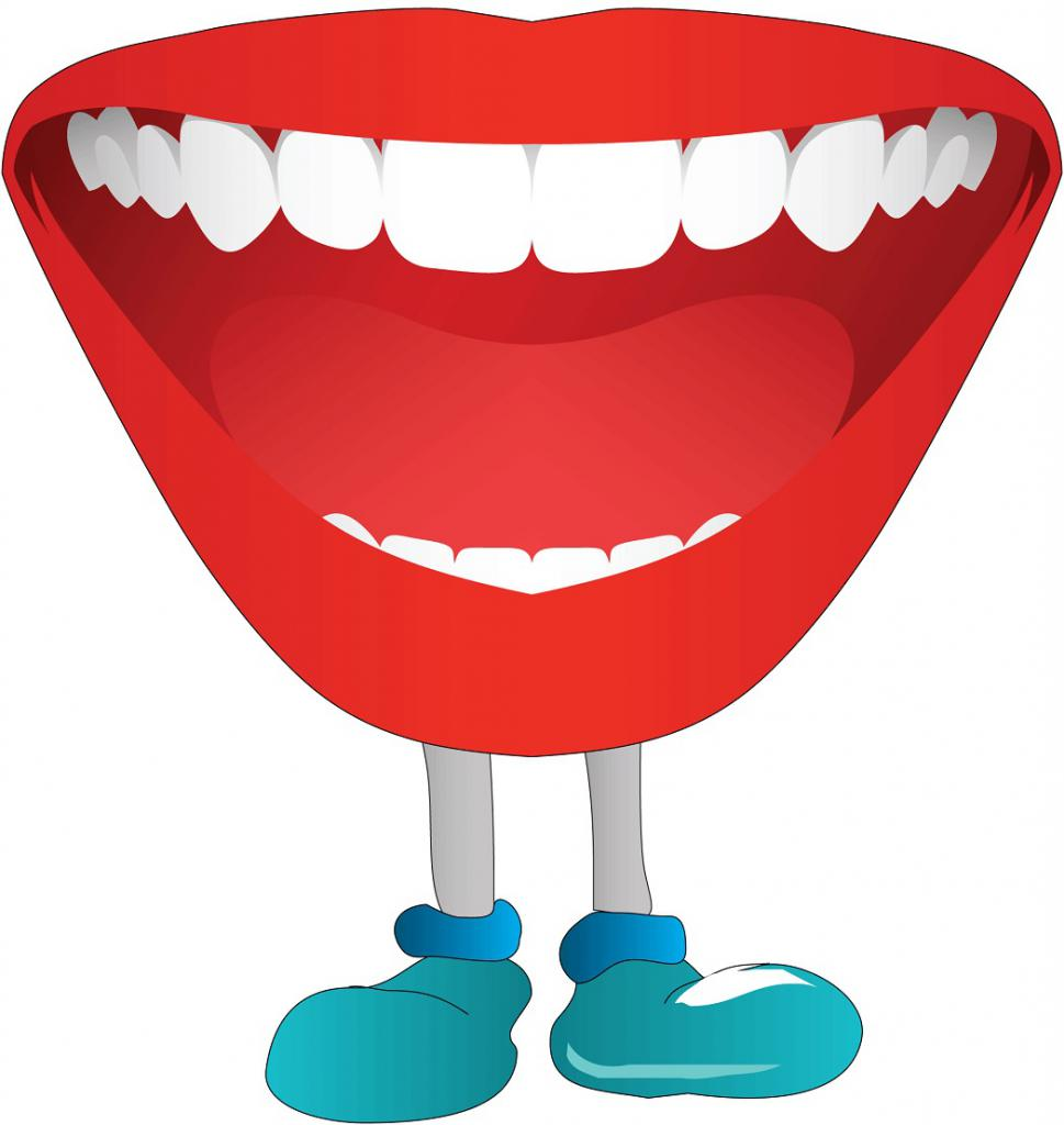 Mouth pictures for articulation