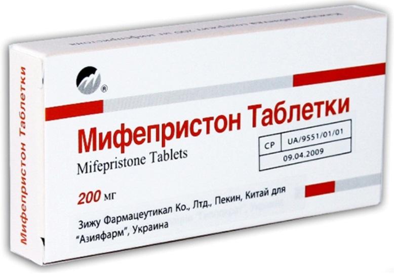 Действие мифепристона при прерывании беременности 3