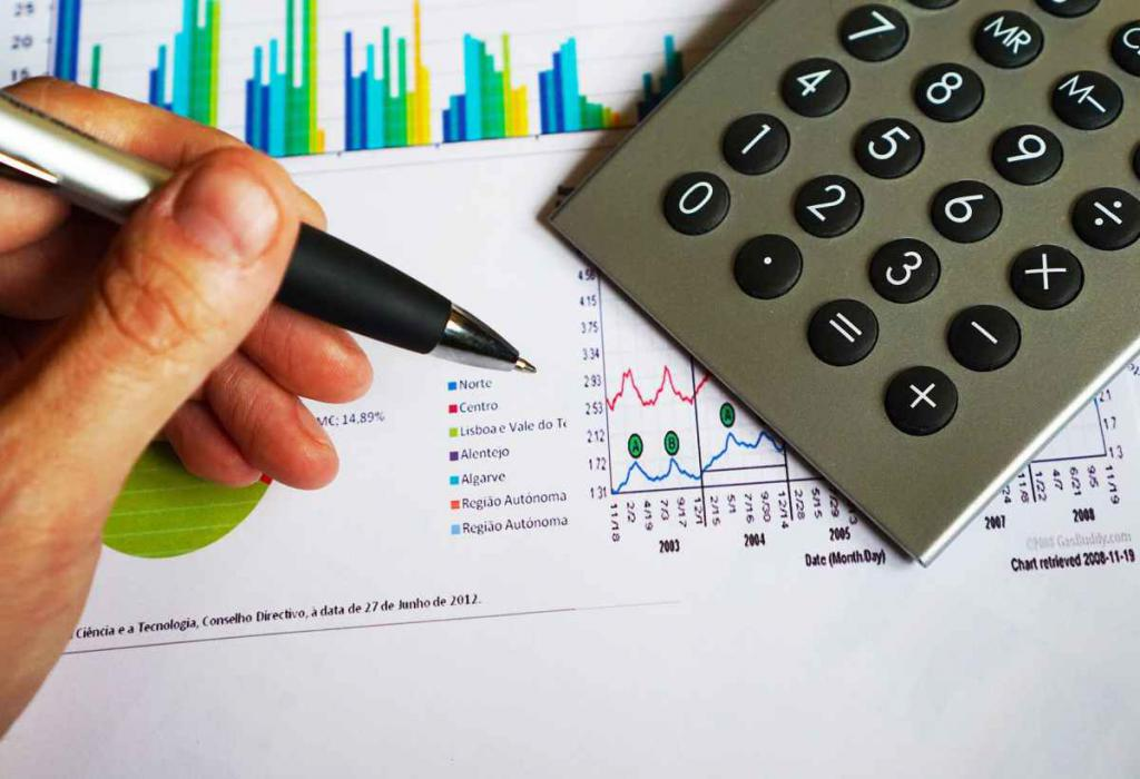 draw up a financial plan for the year
