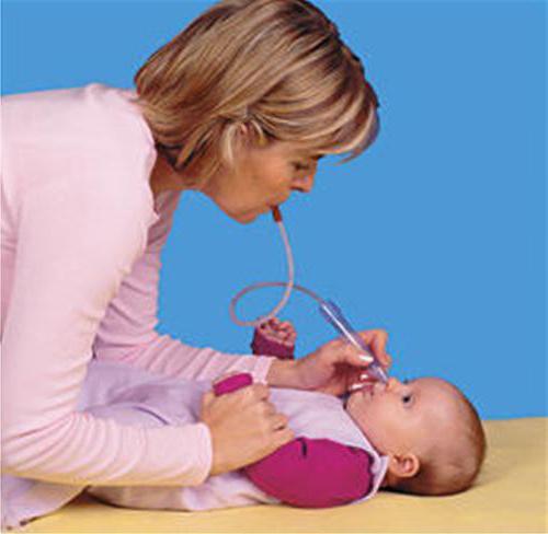 новорожденных отсос для отсасывания слизи