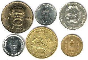 Денежная единица тугрик - чья валюта