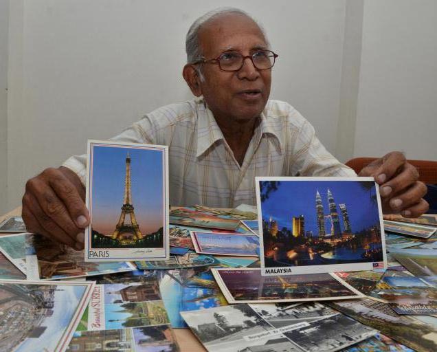 Филателисты открытки