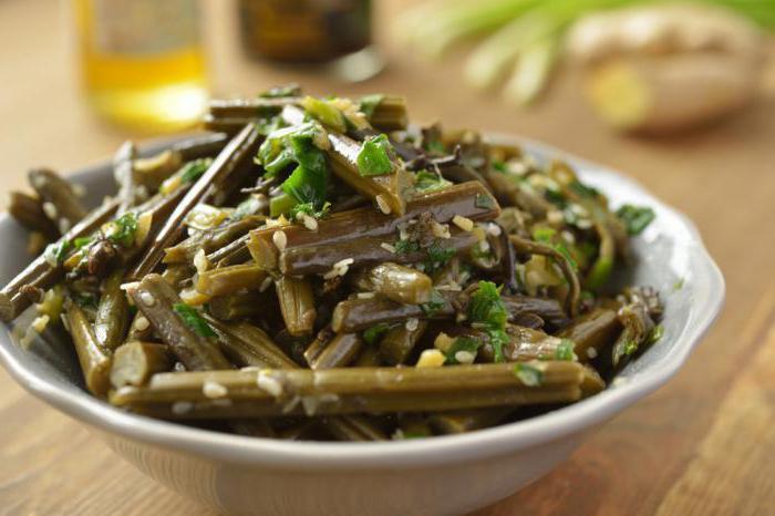 Салат дальневосточный из морской капусты рецепт
