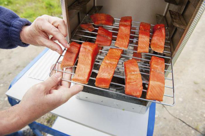 Приготовления для копчение рыбы в домашних условиях 746