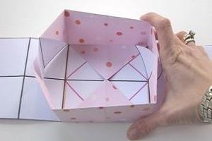 Коробка из картона своими руками