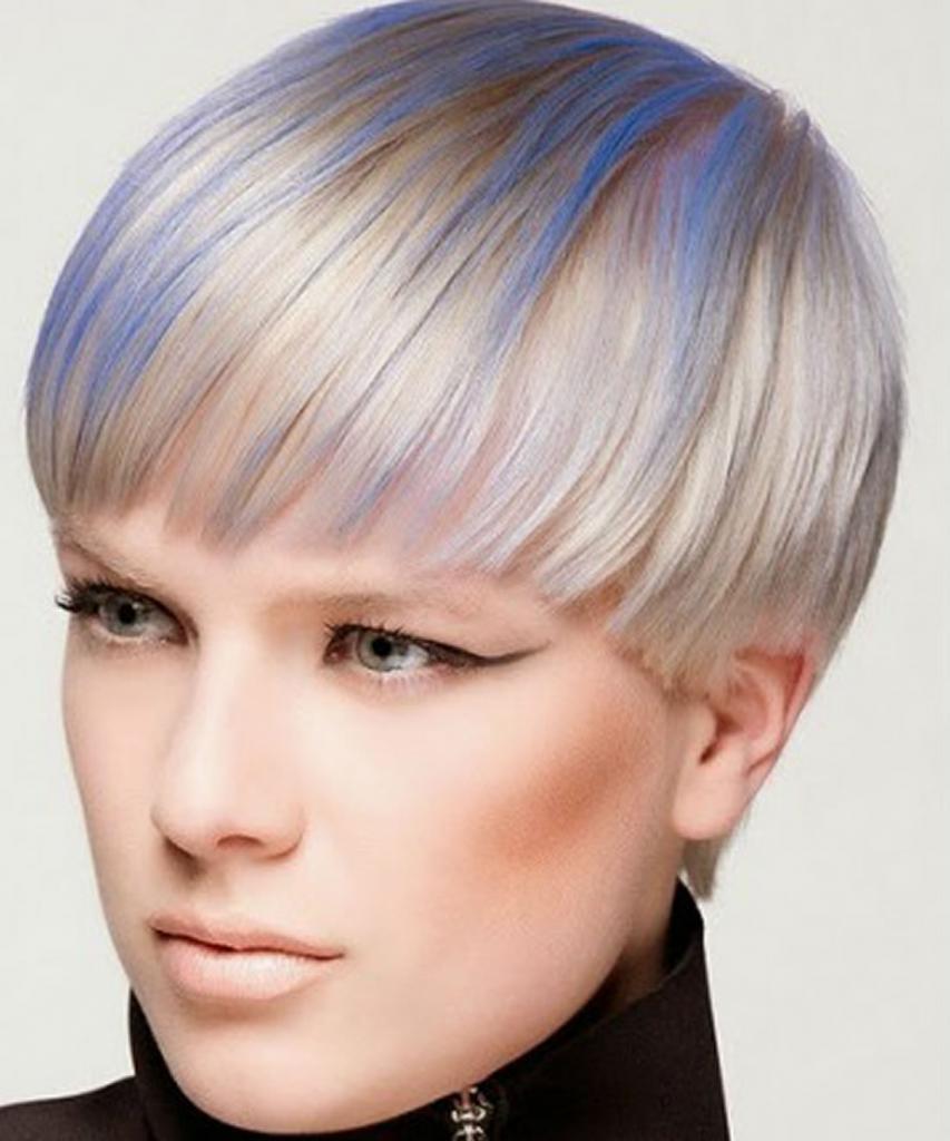 как покрасить короткие волосы фото гадание