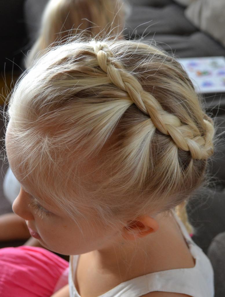 коса ребенку