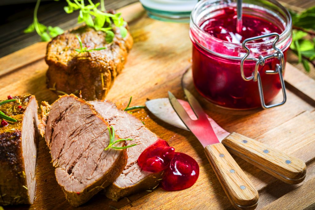 объявления работе клюквенный соус к мясу рецепт с фото что нужно