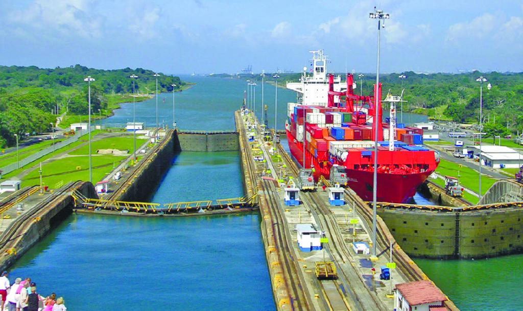 an analysis of the building of the panama canal in central america Panama canal history is generally thought of as beginning in the 1800's, but studies show that the spanish had plans for a canal at the panama isthmus long before that dating back to around 1530, the spanish were busy conquering much of the new world.