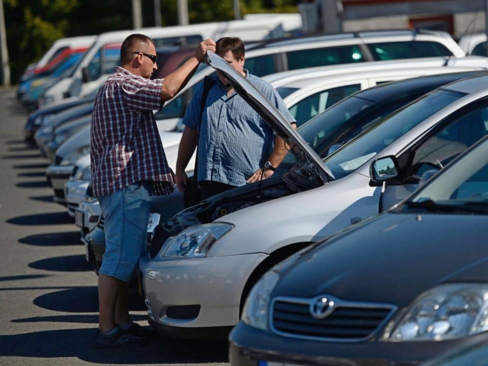 средний пробег автомобиля за год