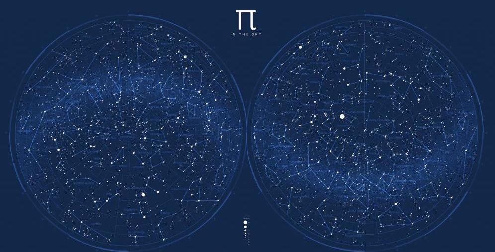 Карта звездного неба картинка в хорошем качестве