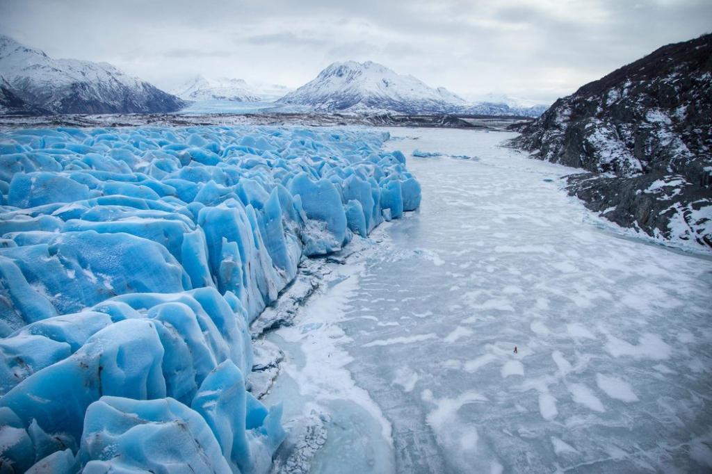 Глетчерный лед нашей планеты
