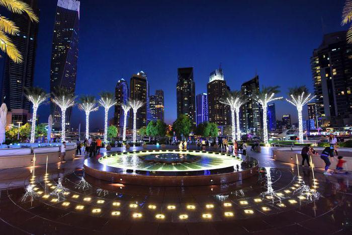 Дубай в конце марта