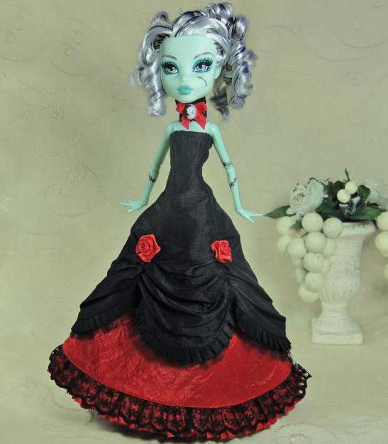 как можно сделать одежду для куклы монстр хай своими руками