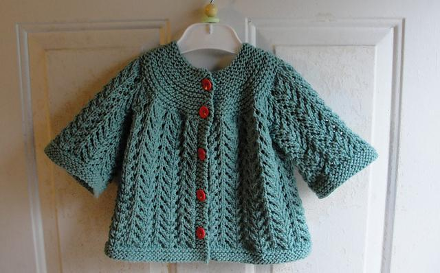 вязание кофт для девочки спицами