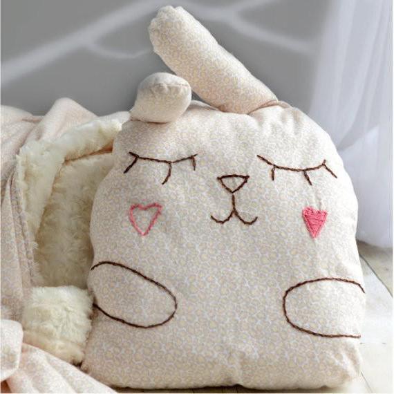 подушка-сплюшка зайка выкройка