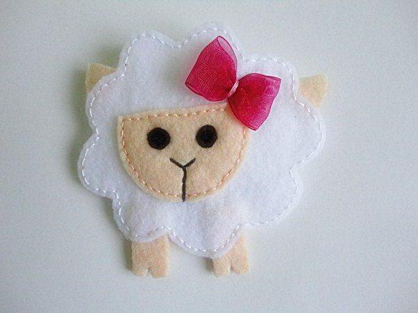 выкройка овцы из ткани