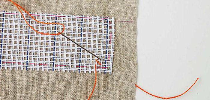счетный крест техника вышивания