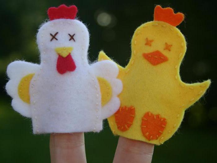 цыпленок из фетра своими руками