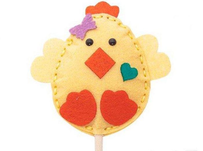 цыпленок из фетра своими руками выкройки