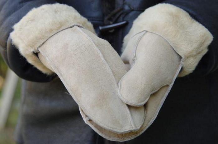 выкройка рукавиц рабочих