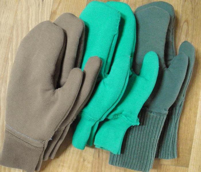выкройка рукавиц