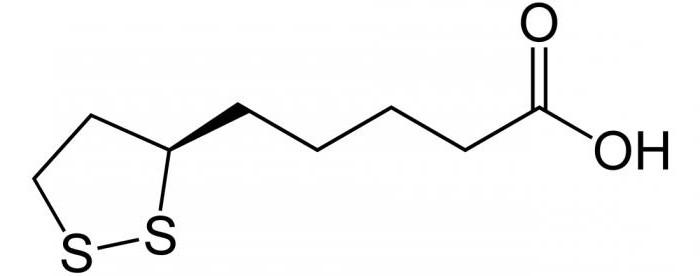 липоевая кислота инструкция по применению