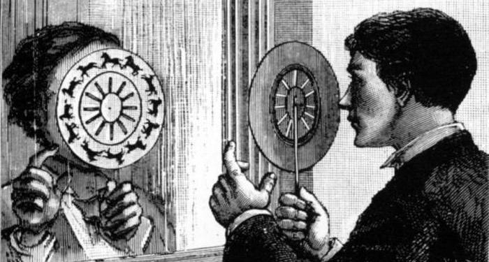Гифка из XIX века или что такое фенакистископ?